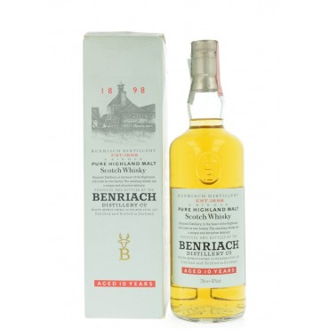 Whisky Benriach Pure Highland Malt 10 anni -