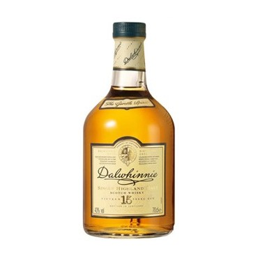 Dalwhinnie Single Malt Whisky 15 Years Old -