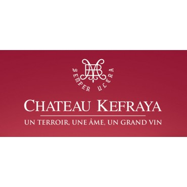 Chateau de Kefraya Bekaa Valley Les Bretèches Rouge 2016 -