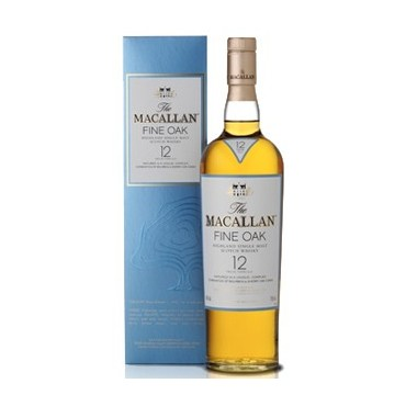 The Macallan Fine Oak 12 Years Old - Single Malt Whisky -