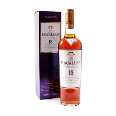 The Macallan Fine Oak 18 years old - Single Malt Whisky -