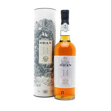 Oban Single Malt Whisky 14 Years Old -