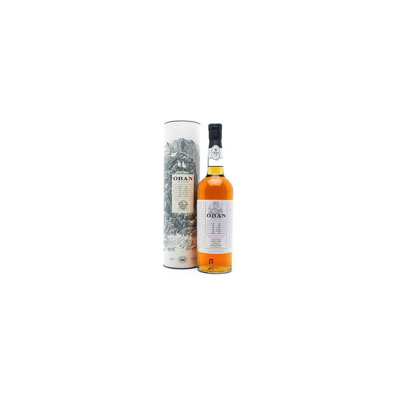 Whisky Oban Single Malt 14 Years Old -