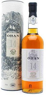 Oban Single Malt Whisky 14 Years Old