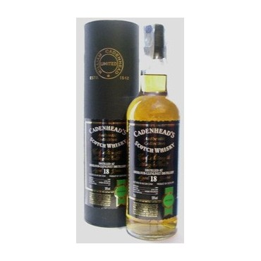 Cadenhead's 18 Anni Scotch Whisky Cask Strength Single Malt - Authentic Collection -