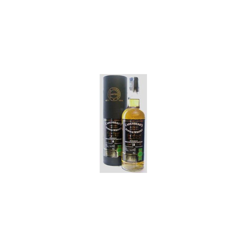 Whisky Cadenhead's 18 Anni Scotch Cask Strength Single Malt - Authentic Collection -