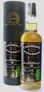 Cadenhead's 18 Anni Scotch Whisky Cask Strength Single Malt - Authentic Collection