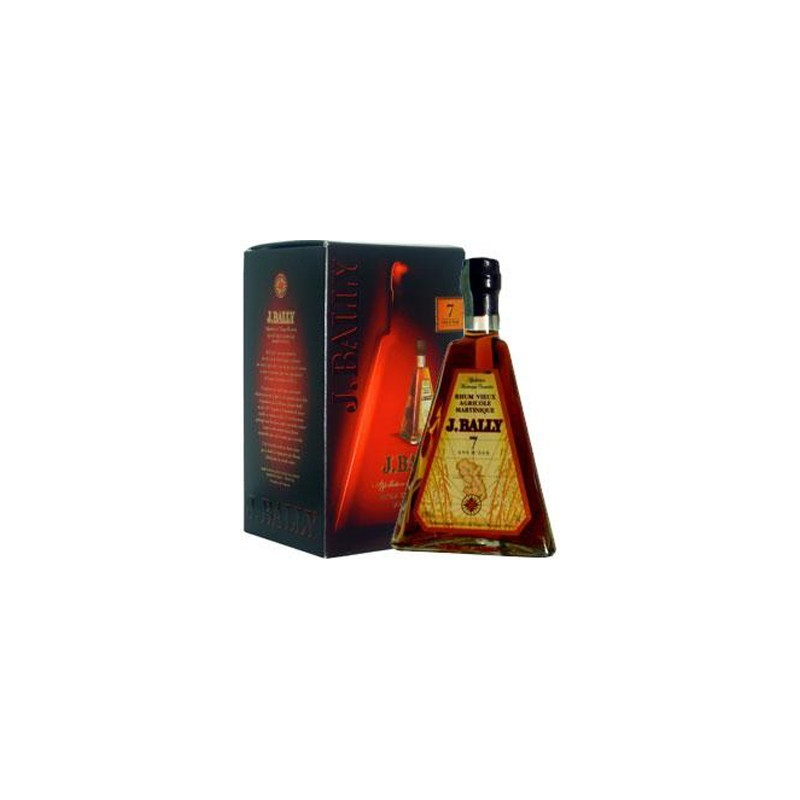 J. Bally Rum Vieux Agricole Pyramide 7 Ans D'age -