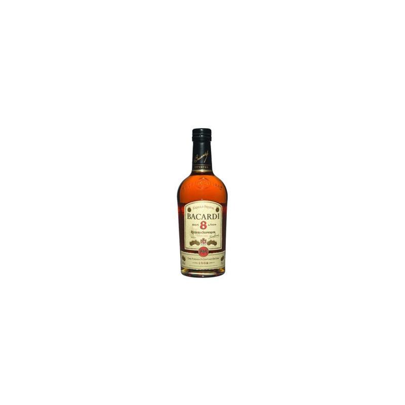 Bacardi Rum 8 Anni -
