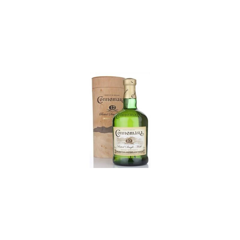 Connemara Peated Single Malt Irish Whiskey 12 Years Old -