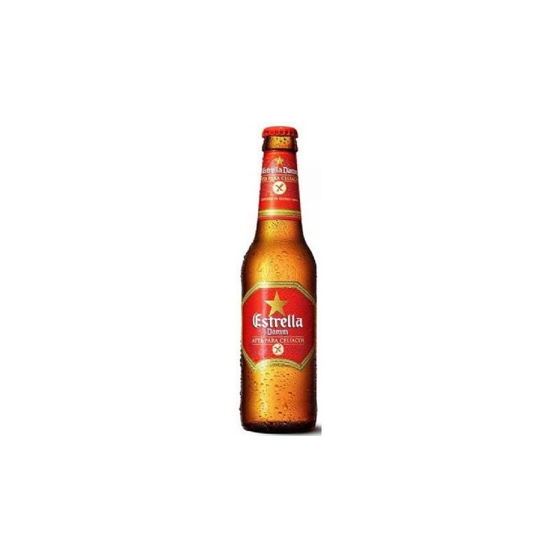 Estrella Daura Senza Glutine (Idonea per Celiaci) Cl. 33 (24 Bottiglie) -
