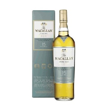 The Macallan Fine Oak 15 Years Old - Single Malt Whisky -