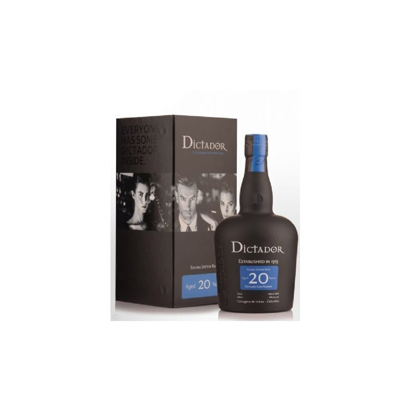 Dictador Solera System Rum 20 Years Old (Astucciato) -