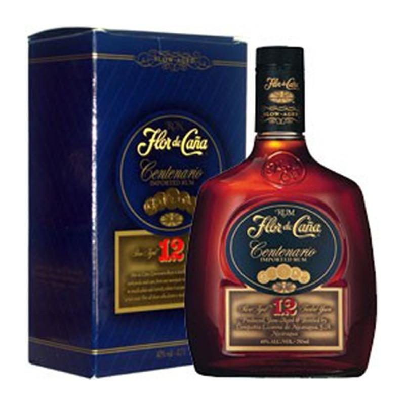 Rum Flor de Cana Centenario 12 Y.O. Slow Aged (Astucciato) -