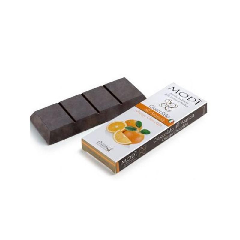 Cioccolato di Modica Puro all'arancia -