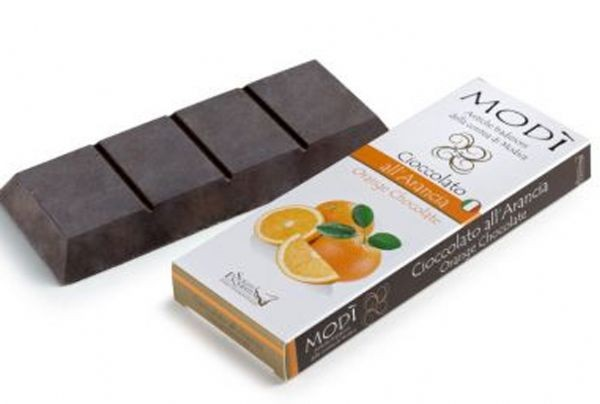 Cioccolato di Modica Puro all'arancia