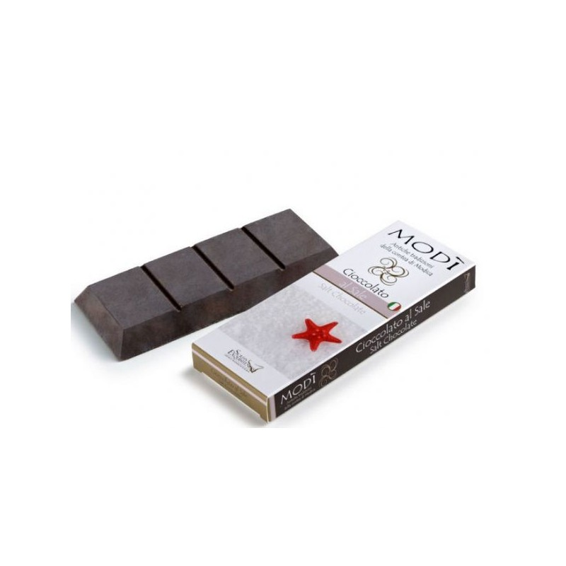 Cioccolato di Modica Puro Con Sale Gr. 100 -