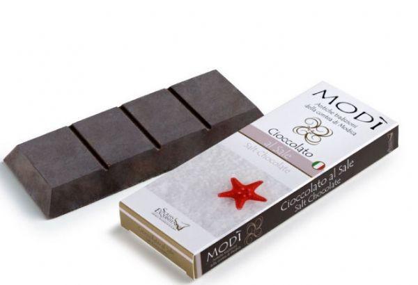 Cioccolato di Modica Puro Con Sale Gr. 100