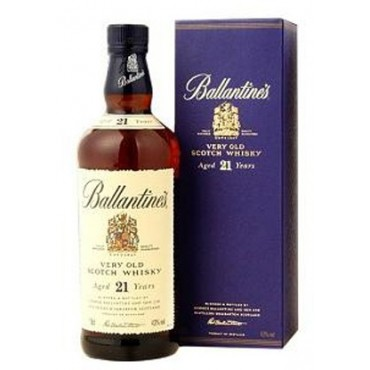 Ballantine's Very Old Scotch Whisky 21 Years Old -