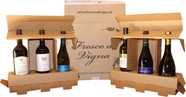 pacco vini spediti
